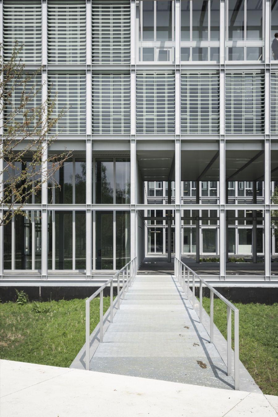 ENSAE ParisTech - Arch. CAB Architectes - Photo : Aldo Amoretti
