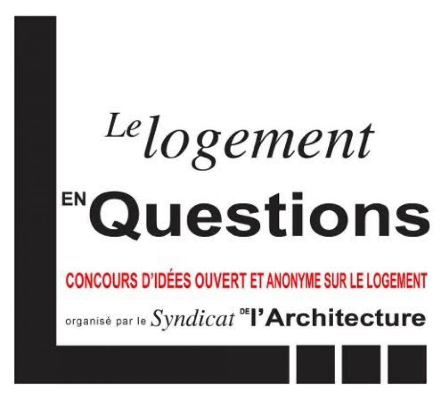 Affiche du concours d'idées pour le logement