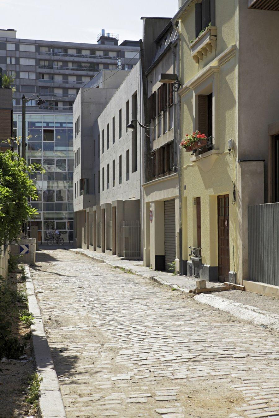 Immeuble rue du Nord - Arch. Charles-Henri Tachon - Photo : Kristen Pelou