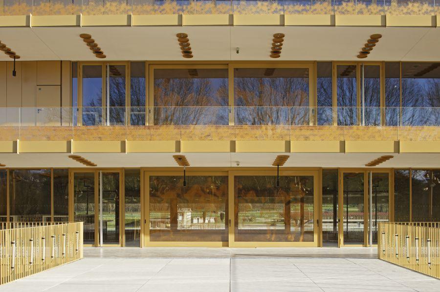 Hippodrome de Longchamp - Arch. Dominique Perrault Architecture - Photo : Vincent Fillon