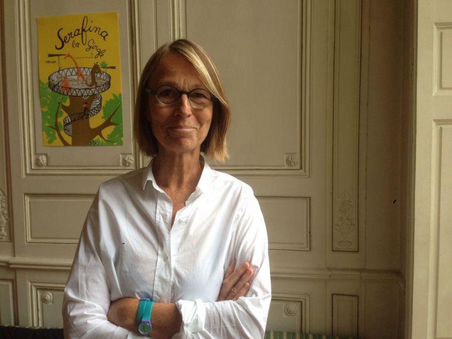 Françoise Nyssen - Photo : ActuaLitté (CC-BY-SA-2.0)