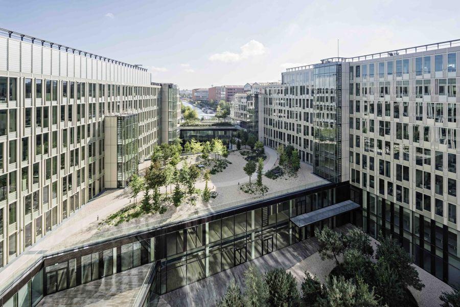 Siège social de Veolia - Arch. Dietmar Feichtinger Architectes - Photo : Dietmar Feichtinger Architectes