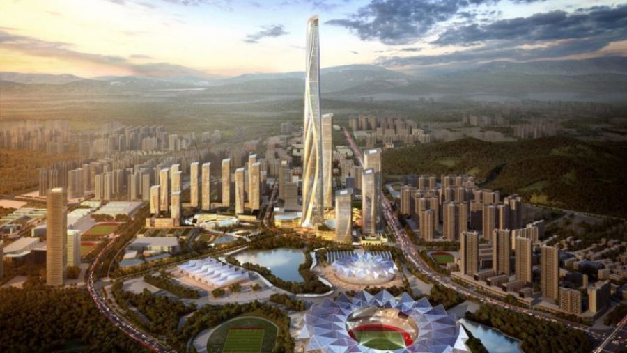 Projet du Centre International Shimao Shenzhen-Hong Kong - via Dezeen
