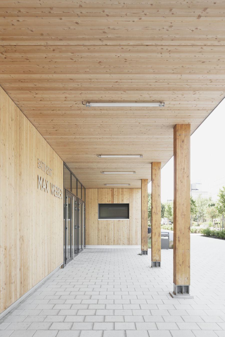 Bâtiment Max Weber - Arch. Pascal Gontier - Photo : Schnepp Renou, Hervé Abbadie