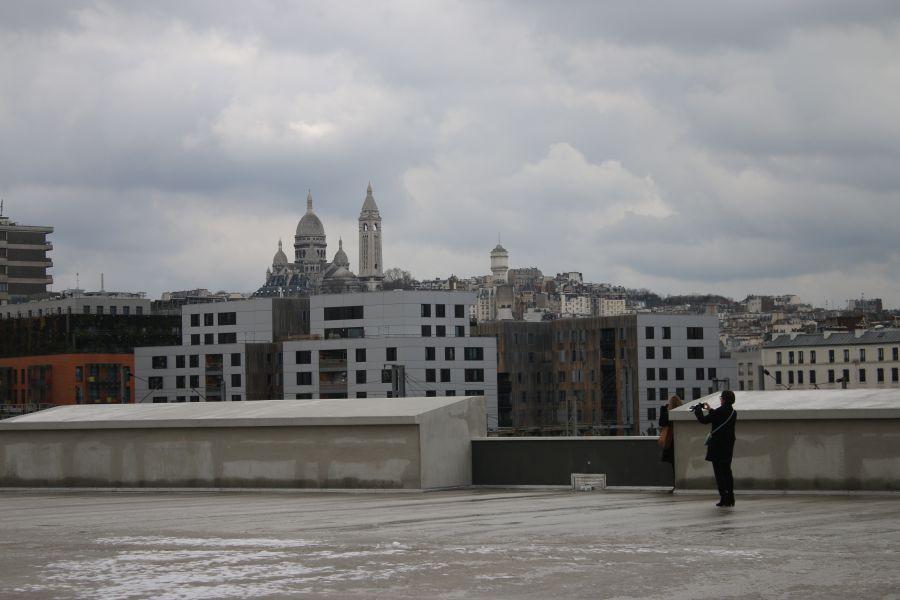 Halle de fret Chapelle Internationale - Arch. A.26 Architectures - Photo : CAUE de Paris