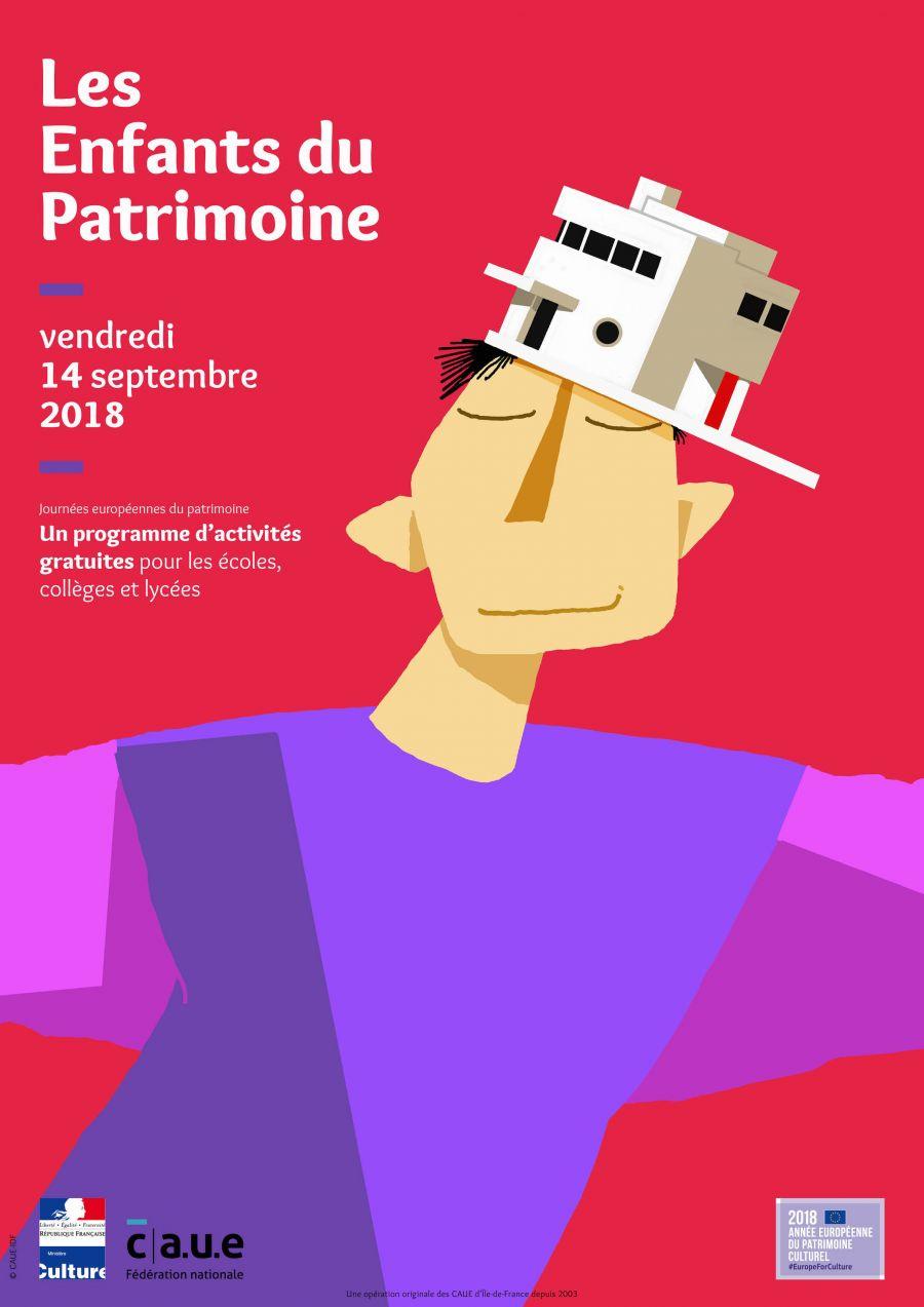 Affiche nationale des Enfants du Patrimoine