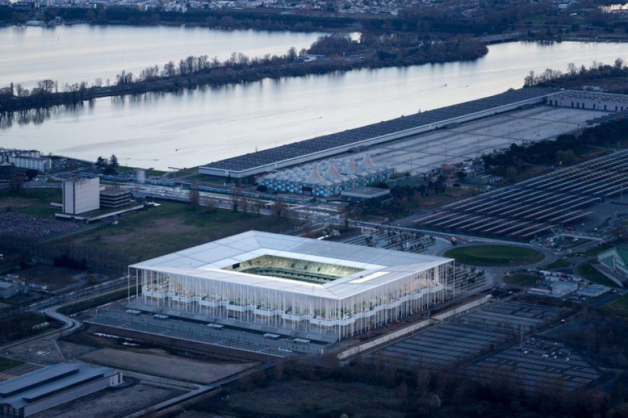 Stade Matmut Atlantique - Arch. Herzog & de Meuron - Photo : Iwan Baan et Francis Vigouroux