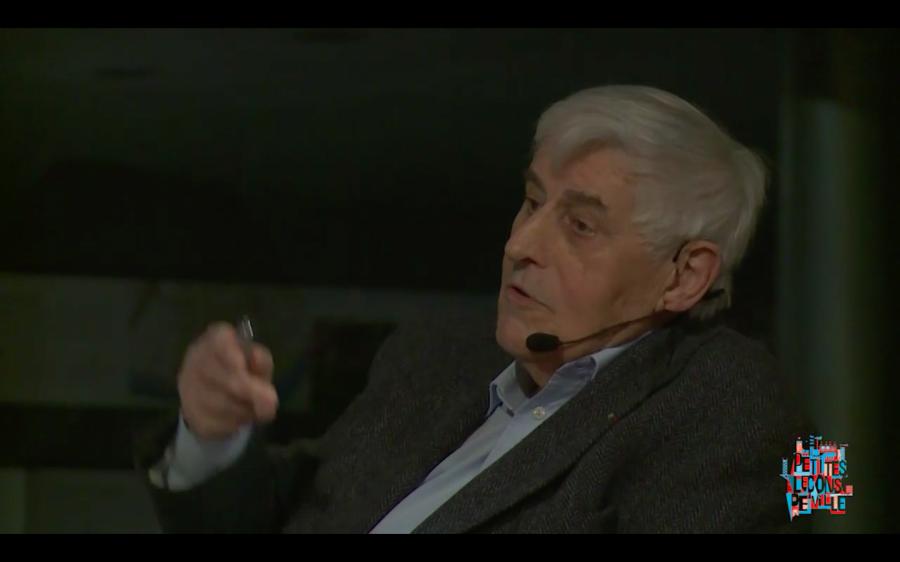 Roland Schweitzer - Extrait de la vidéo d'une conférence organisée par le CAUE en février 2018