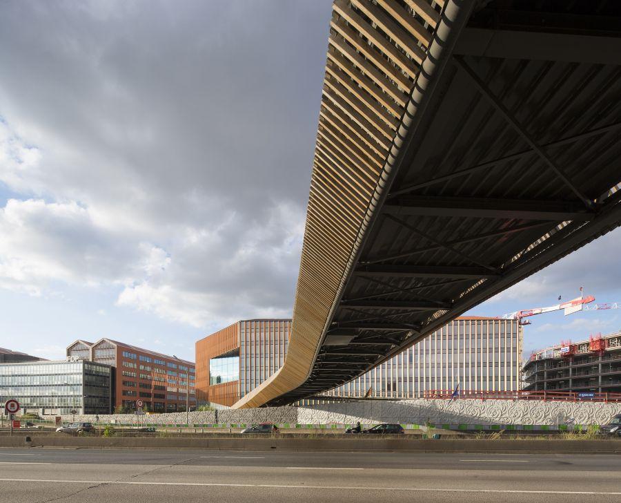 Passerelle Claude Bernard - Arch. DVVD - Photo : Luc Boegly