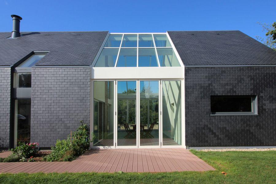 Maison Longère - Arch. J Guillo Architecte - Photo : J Guillo Architecte