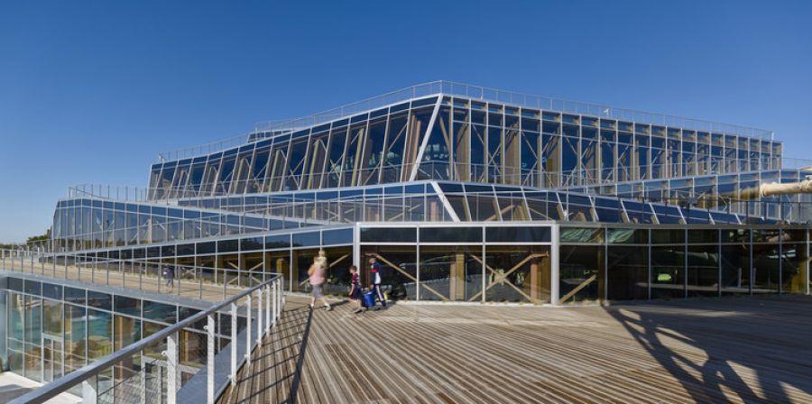 Aqualagon - Arch. Jacques Ferrier Archiecture - Photo : Didier Boy De La Tour