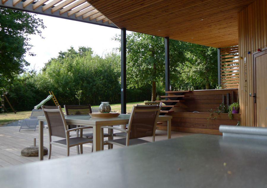Pool House à Bonzac - Arch. Atelier PY - Photos : Nicolas Peuaud, Hugo Navarre