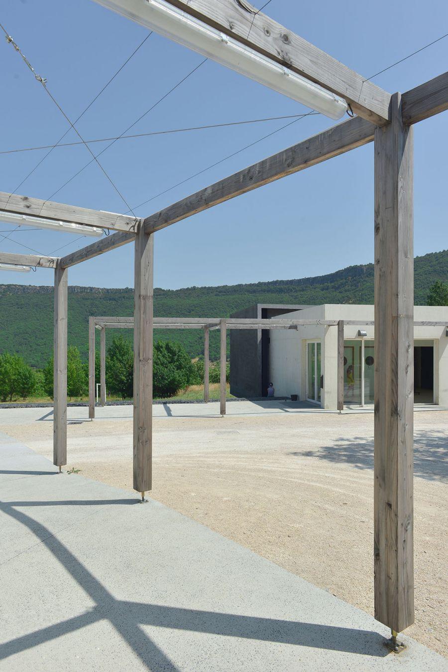 Mairie et salle polyvalente de Rochessauve - Arch. Esteve & Dutriez Architectes - Photos : Esteve & Dutriez Architectes