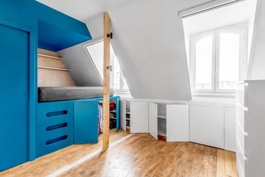Le studio de Guillaume à Paris - Arch. Inée - Photos : Albano Franzoso