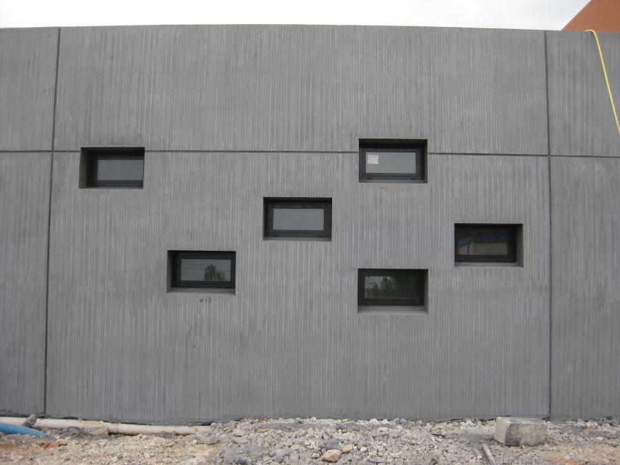 Simulateur pour la formation des sapeurs pompiers à Vitrolles - Arch. Rossi-Maury Architectes