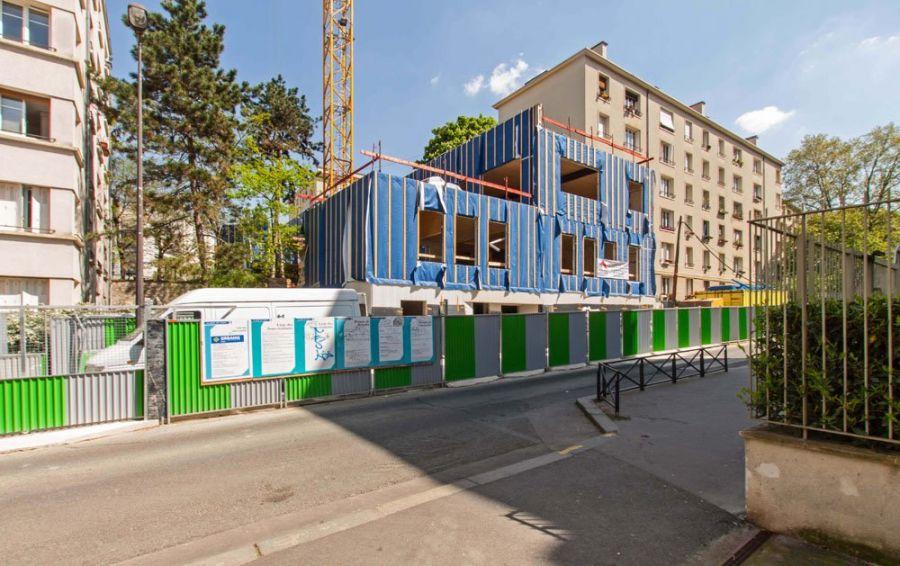 Crèche Bourdan à Paris - Arch. Atelier Giet - Image : Atelier Giet