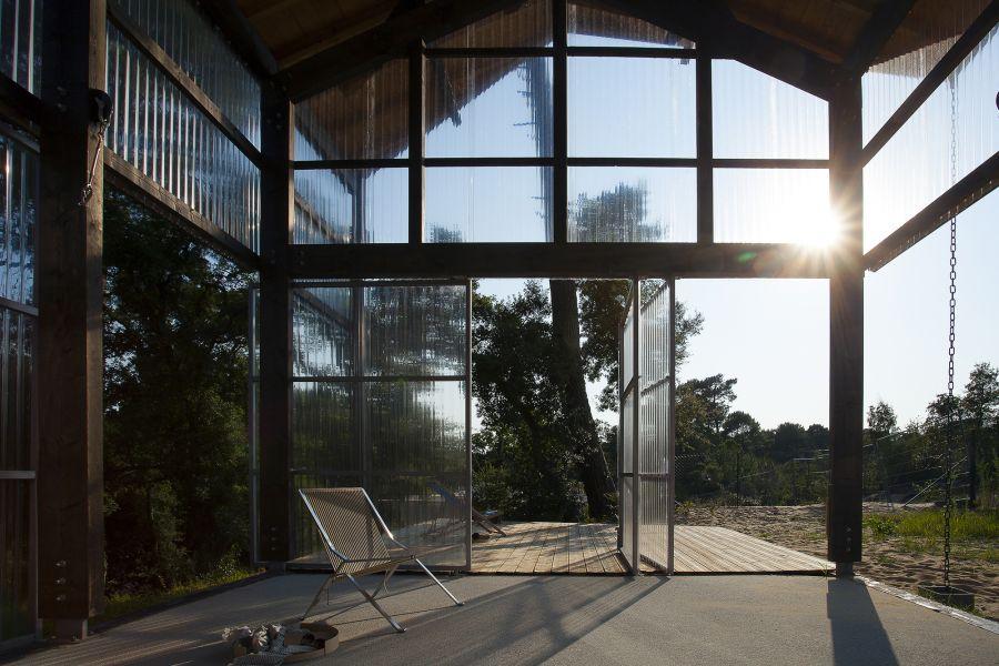 Une maison pour surfeurs - Arch. Java Architecture - Photo : Caroline Dethier