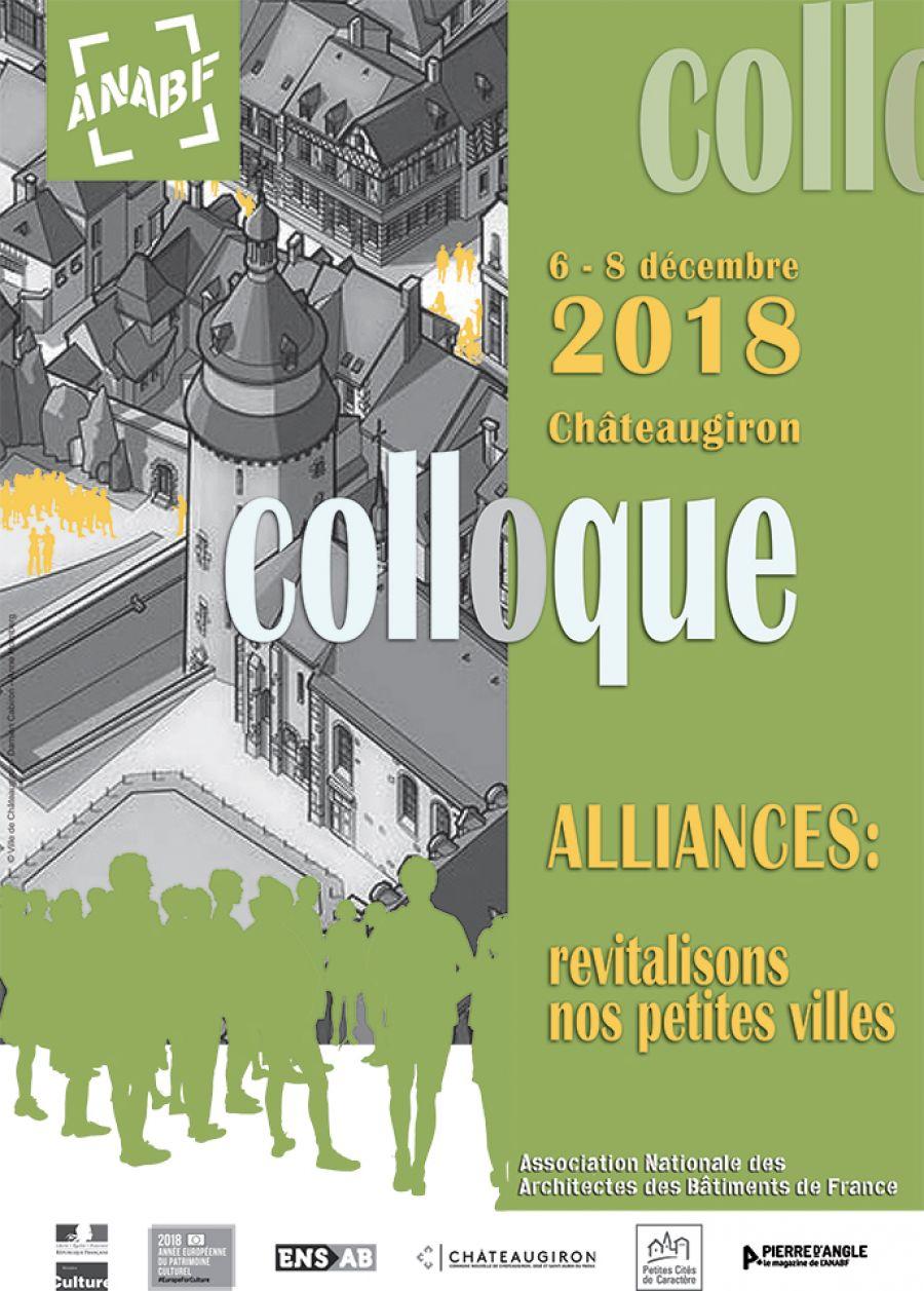 Colloque de l'Association Nationale des Architectes des Bâtiments de France du 6 au 8 décembre 2018