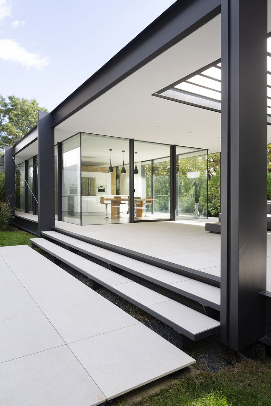 Maison CTN - Arch. Brengues Le Pavec Architectes - Photo : Marie-Caroline Lucat