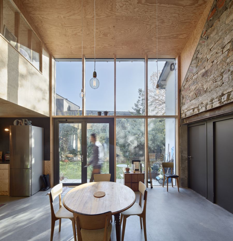 Maison Puzzle - Arch. Mabire Reich - Photo : Guillaume Satre
