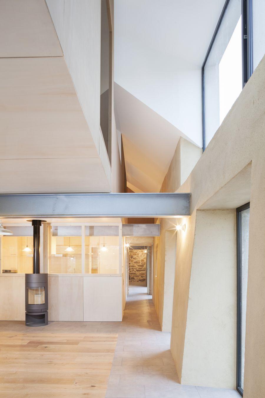 Longère à Bruz - Arch. Atelier 56S - Photo : Jeremias Gonzalez