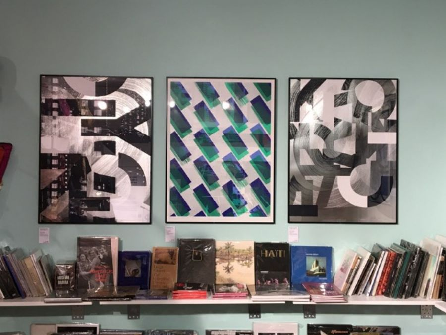 Exposition Des Signes à la librairie Artzart, en avril 2018 - Photo : Franklin Desclouds