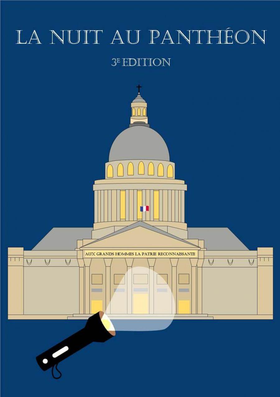 La Nuit au Panthéon, un événement organisé jusqu'au 30 janvier - Photo : Centre des monuments nationaux