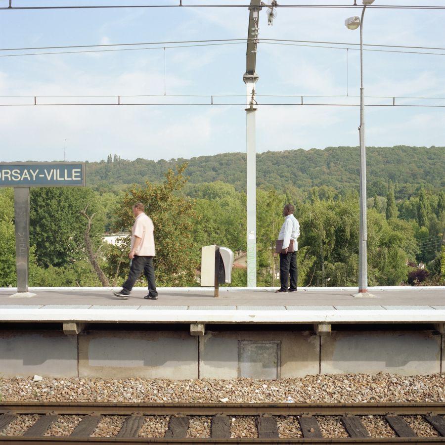 Gare d'Orsay, 2009 Série Plateau de Saclay Patrizia Di Fiore - Photo : Patrizia Di Fiore