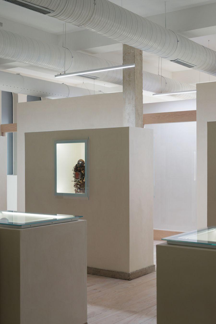 Musée Spiritain des Arts Africains - Arch. NeM, Gernay Architecte - Photo : Cyril Weiner