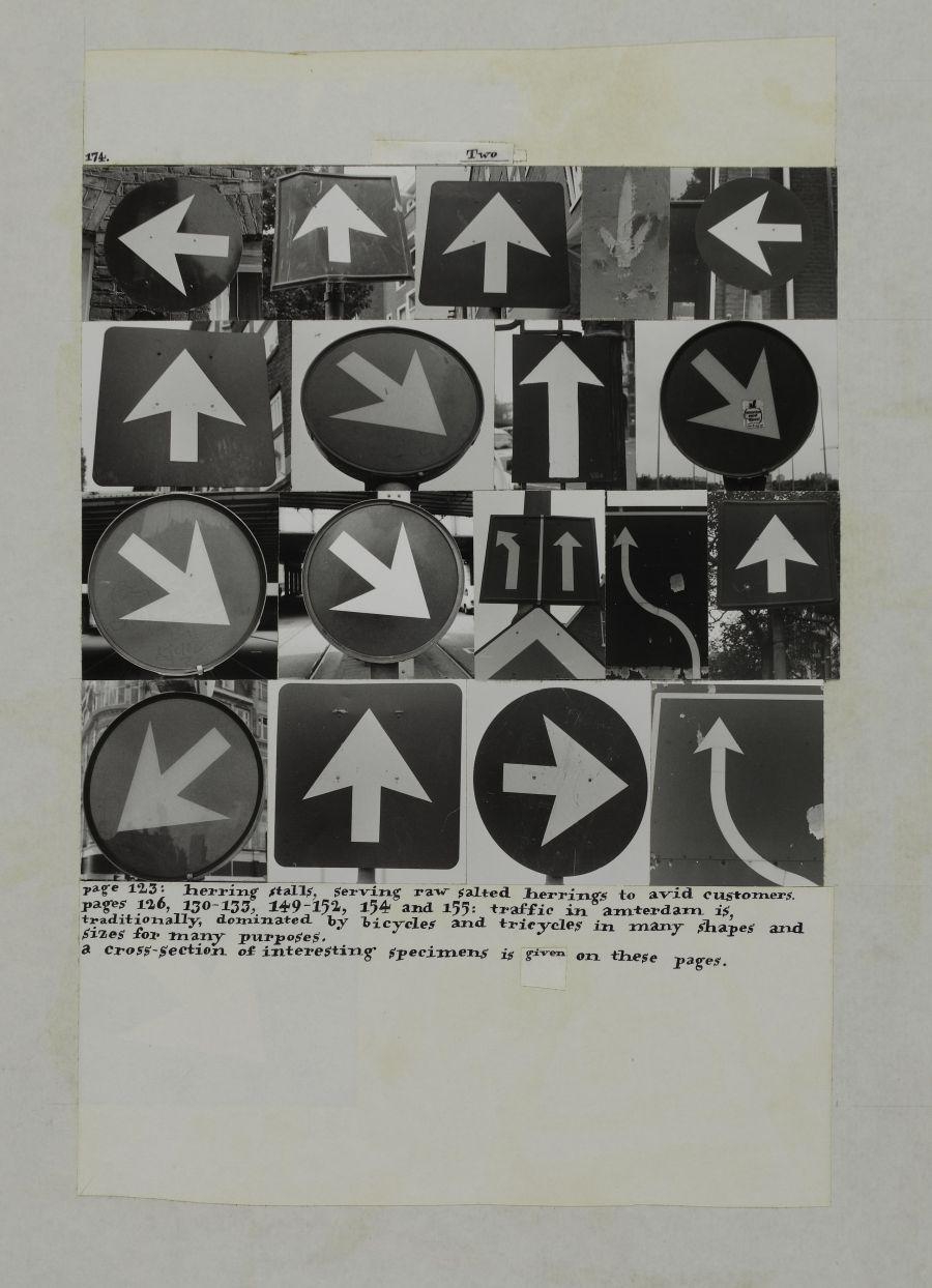 Two - Planche tirée du 700 centenboek Amsterdam, 1975 - Crédit photo :  CentrePompidou, G. Meguerditchian, Jos Houweling