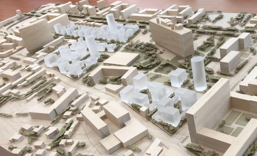 Le montage photo avec les chantiers prévus dans le cadre du PLUI - Photo : Ph. Bernon via http://m.lamarseillaise.fr