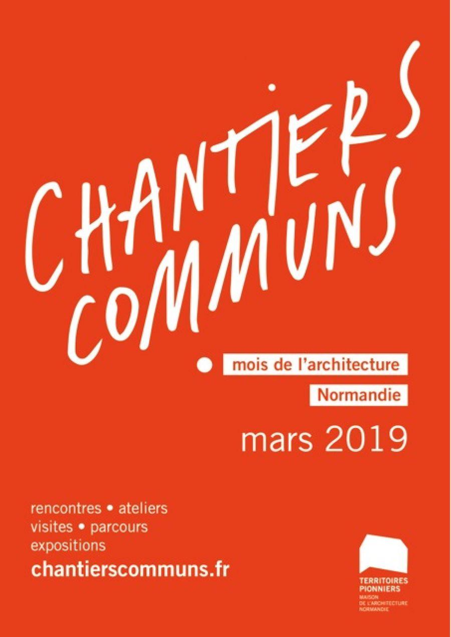 Chantiers Communs, un mois d'architecture en Normandie - Image : DR