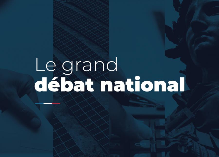 Les architectes prennent part au grand débat - Image : granddebat.fr