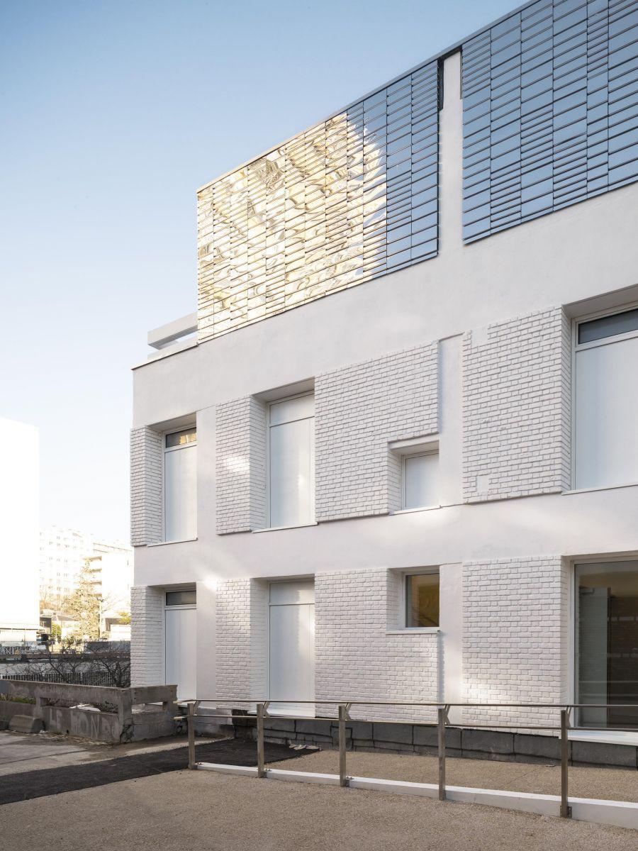 Théâtre 13 et centre culturel Daviel - Arch. Pannetier Architecture - Photo : Cyrille Weiner