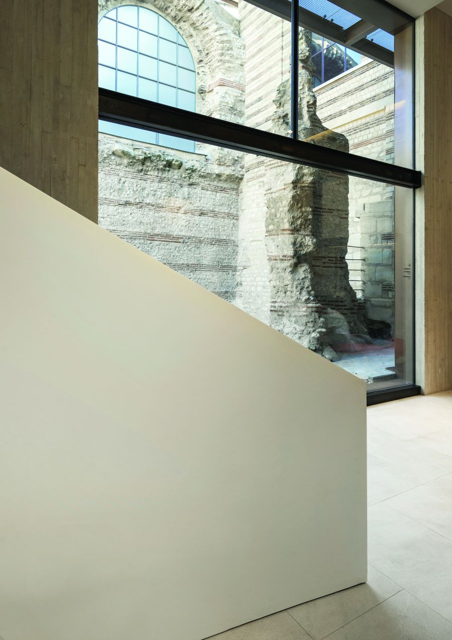 Musée de Cluny - Arch. Bernard Desmoulin Architecte - Photo : Michel Denance