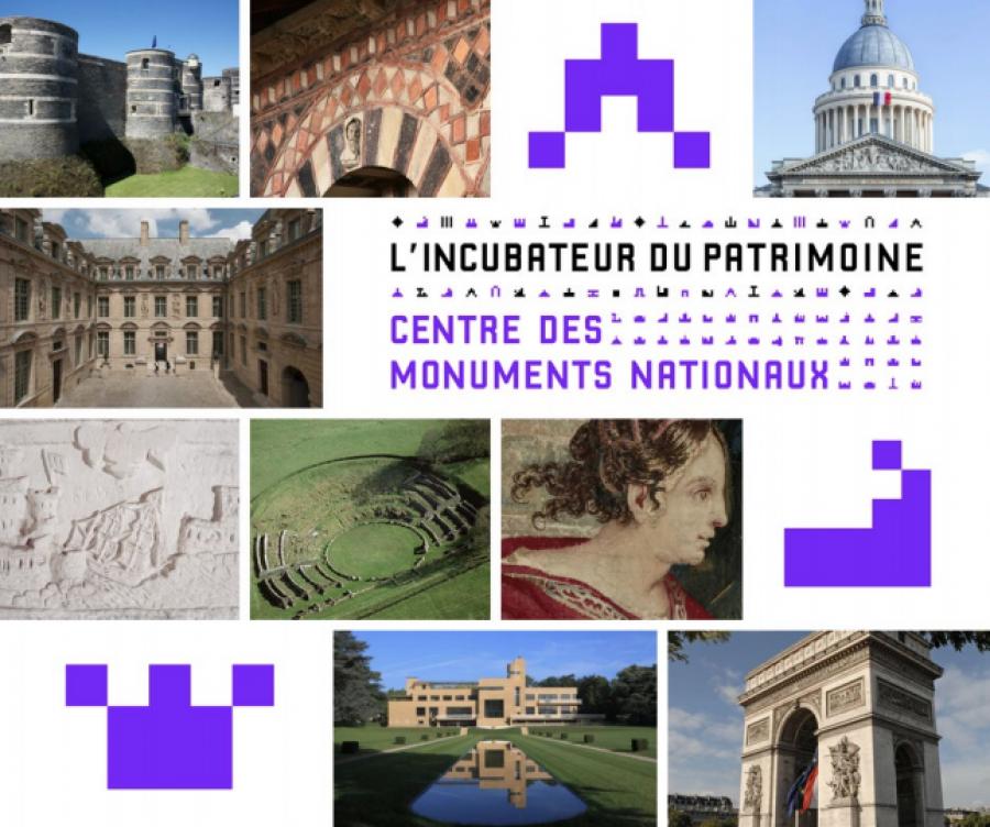 Le CMN lance la 2nde édition de l'incubateur du patrimoine - Image : DR via Centre des monuments nationaux