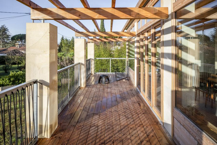 Maison individuelle - Arch. Perraudin Architecture - Photo : 11h45