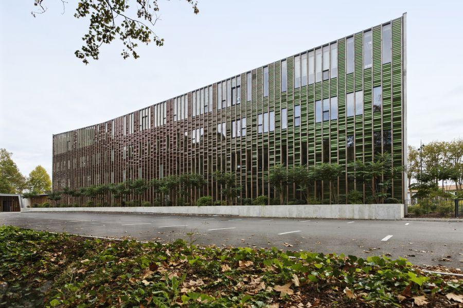 Siège social de l'Office 64 de l'Habitat - Arch. Patrick Arotcharen - Photo : Mathieu Choiselat