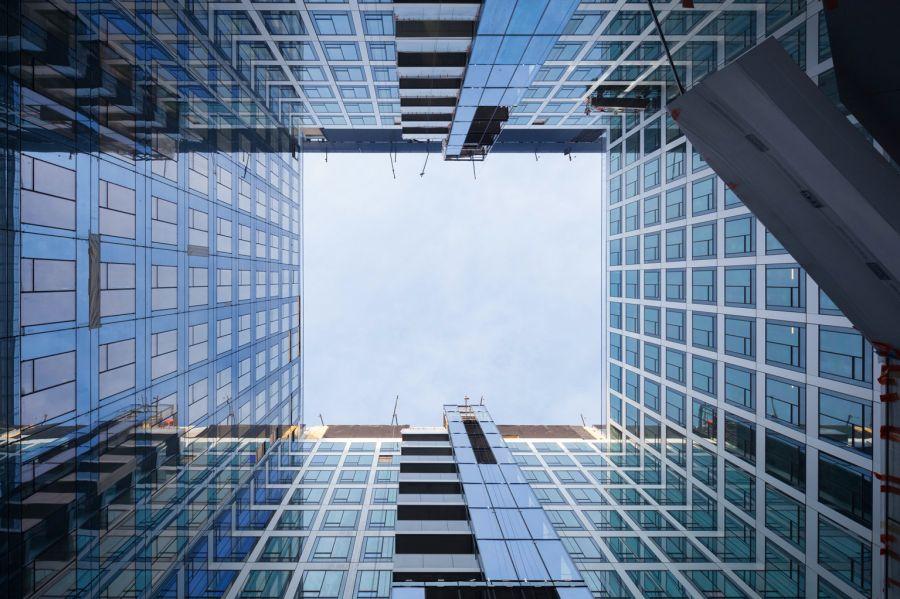 Carré Michelet - Restructuration 2019 Paris La Defense - © Photo :  Hugo Hebrard Eiffage CroandCo Architecture