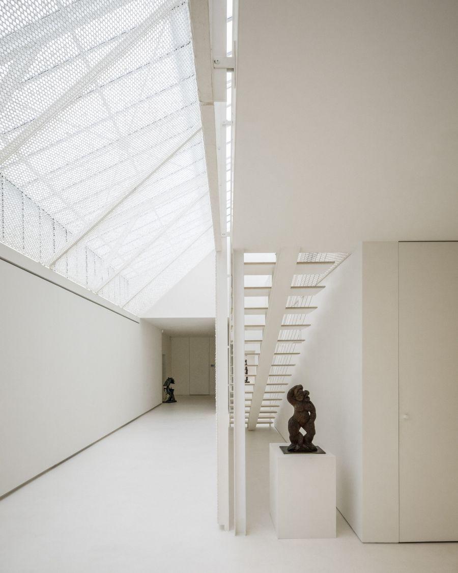Archives Antoni Clavé - Arch.Kengo Kuma & Associés - Photo : 11h45
