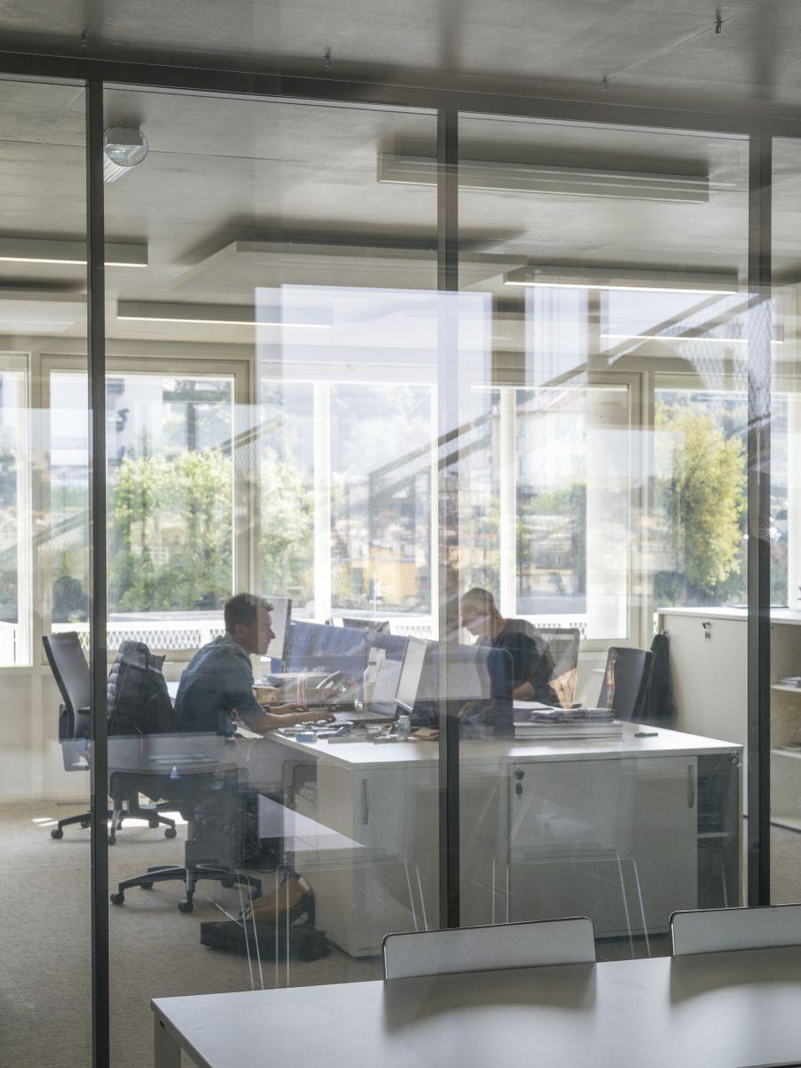 Bureaux Anis - Arch. DREAM, Nicolas Laisné - Photo : Cyrille Weiner