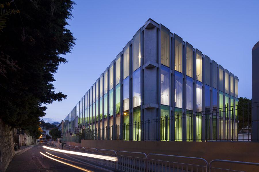 Collège Simone Veil - Arch. Comte & Vollenweider - Photo : Milène Servelle