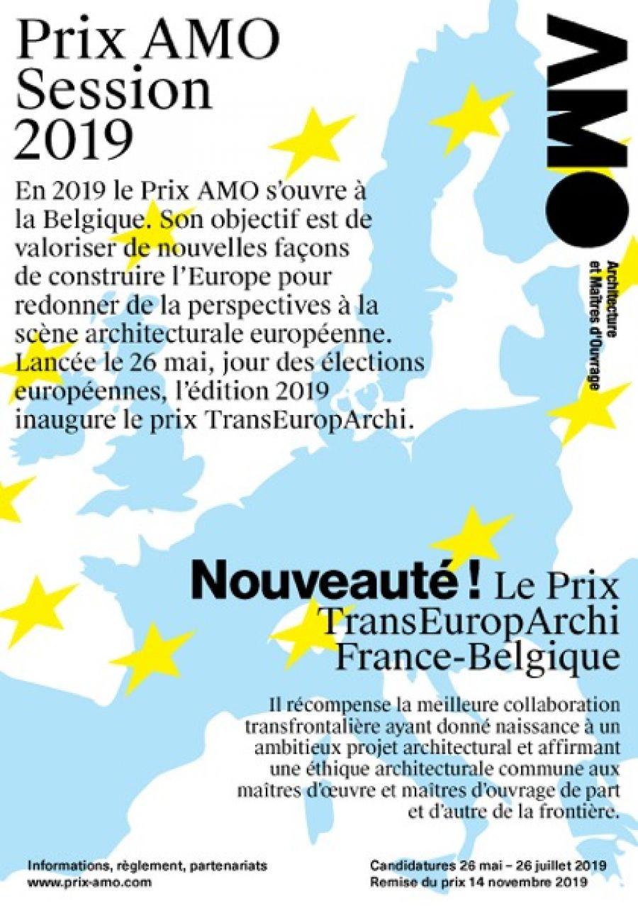 Affiche du concours AMO édition 2019 © AMO, Tous droits réservés