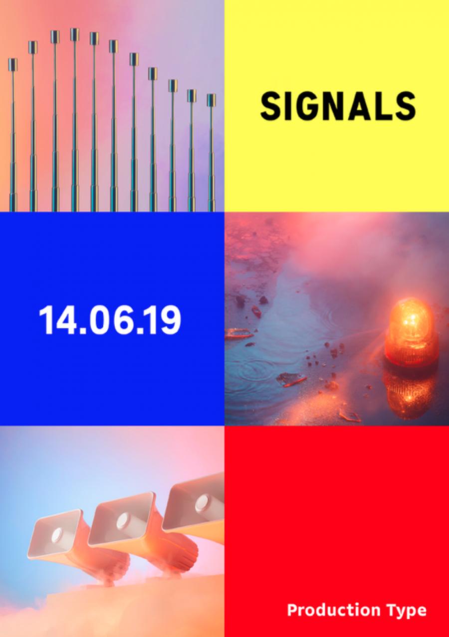 Production Type fête ses 5 ans avec l'exposition SIGNALS - Image via jigsaw