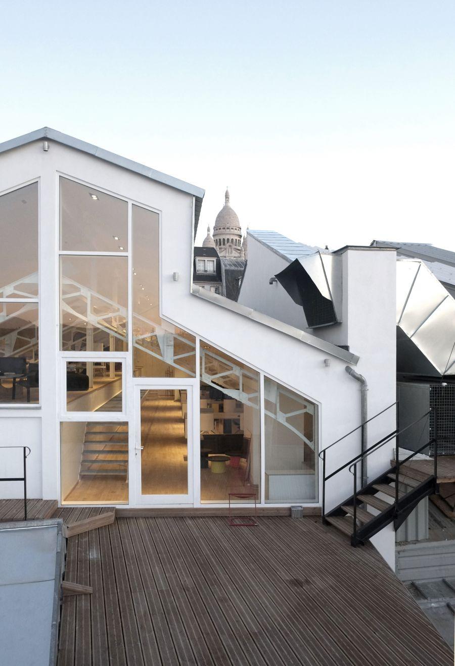 Bureau Paris - Arch. Studio Combo - Photo : Guillaume Guerin
