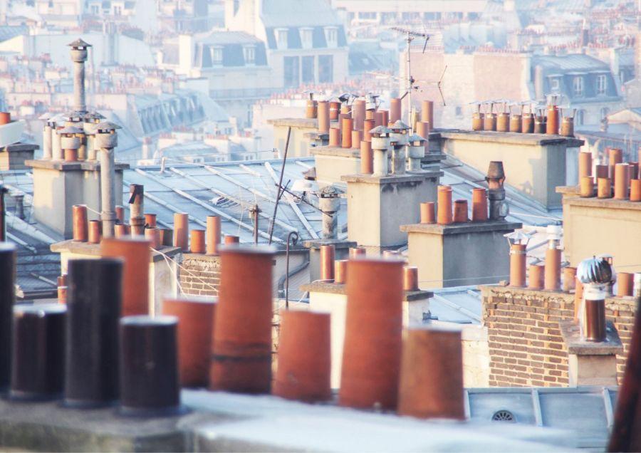 Toits parisiens © Ylé Architectes