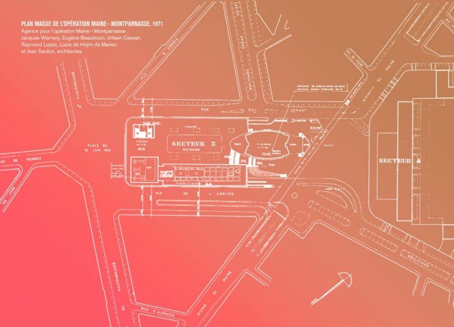 Maine Montparnasse, consultation internationale © Pavillon de l'Arsenal