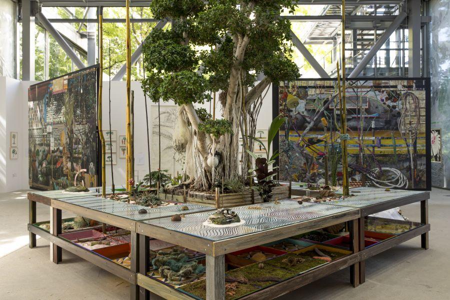 Table-herbier, Luis Zerbini © Fondation Cartier