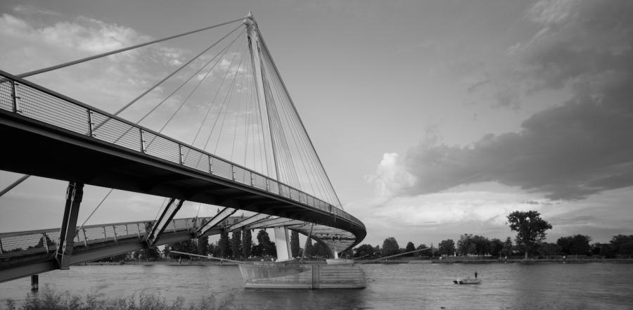 Passerelle des deux rives - Arch. Marc Mimram - Photo : Erieta Attali