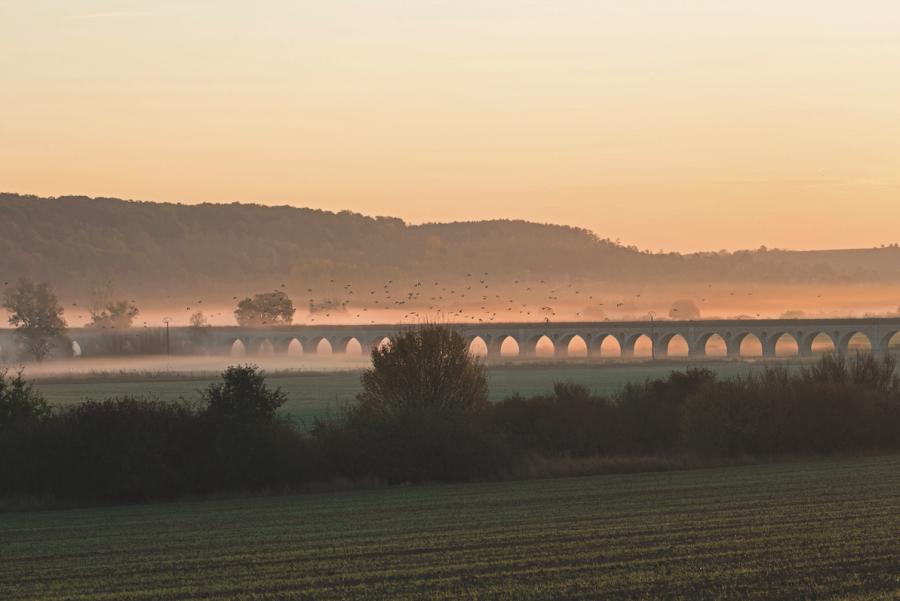 Aqueduc de l'Avre © Pascal Lemaître